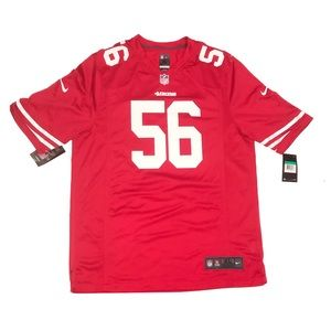 NWT Nike San Francisco 49ers foster #56 jersey